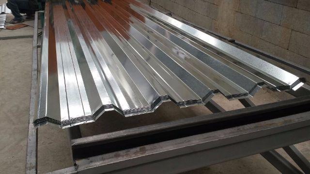telha de aço galvanizado
