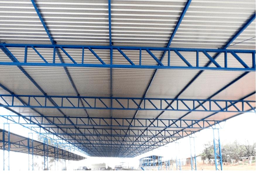 Muitas vezes Estruturas metálicas para telhado - O Calculista de Aço YL26