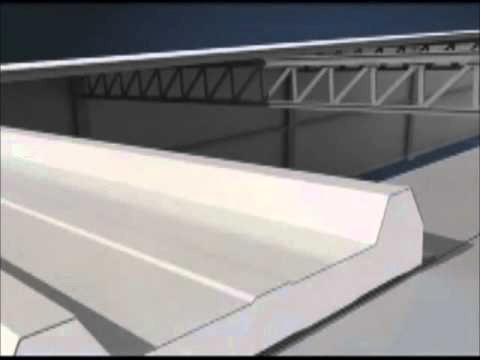 modelo de telha metálica acústica