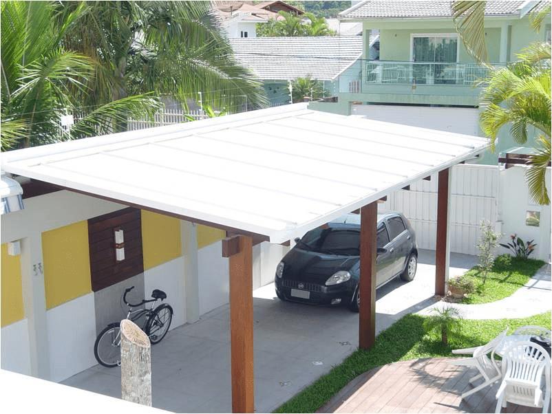 exemplo telha metálica acústica